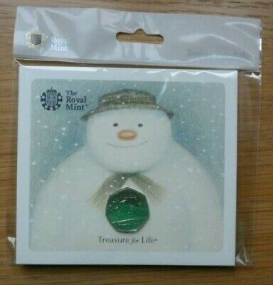 Royal Mint Snowman 50p Coin 2018 presentation pack Brand New