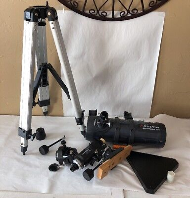 Used, Equatorial Mount Orion, telescope Mount & Tripod & Celestron Astromaster  114 for sale  Westminster