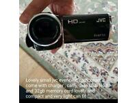 Stunning jvc hd compact camcorder