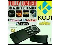 Amazon Fire TV Stick Fully Loaded with Kodi & Mobdro free Live tv,sports and movies