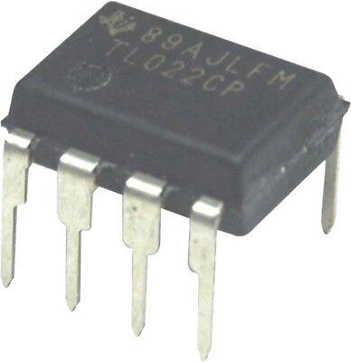 5pcs Texas Instruments Tl022cp Tl022 Dual Low-power Op-amp Dip-8 New Ic