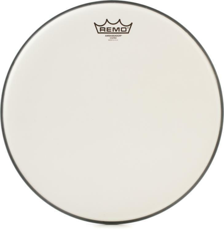 Remo Ambassador Coated Drumhead - 14 inch (2-pack) Value Bundle