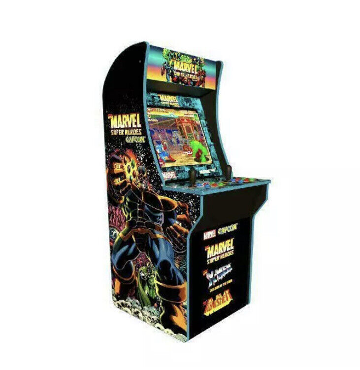 Marvel Super heroes Arcade1UP Retro Gaming Cabinet Machine 3 Game IN 1 BRAND NEW