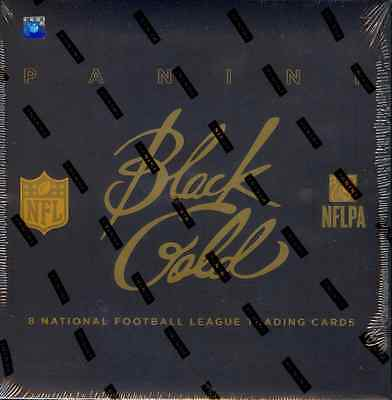 2014 PANINI BLACK GOLD HOBBY FOOTBALL BOX  / BUY 2 BOXES SAVE $5 !
