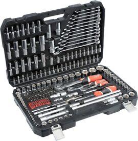 "Pro Socket Set YATO 1/4"", 3/8"" i 1/2"" 216pcs Garage Tools proffesional mechanic"