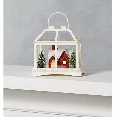 Martha Stewart Farmhouse Holidays PUTZ Ornaments With LED Lights