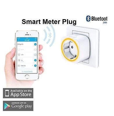 Smart Meter Plug prise intelligente Connectée pilotable Bluetooth programmateur Une prise intelligente pour gérer au mieux vos appareils électriques -   1 - Une prise intelligente pour gérer au mieux vos appareils électriques
