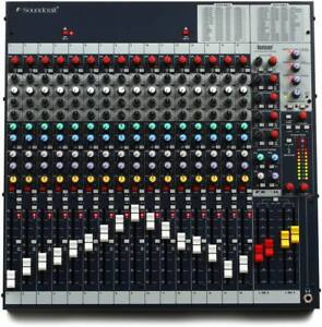 Soundcraft FX16ii - 16 Channel Studio Mixer with Lexicon Effects
