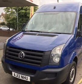 VW Crafter 2.0TDI 136bhp 84k for sale. May Px car plus cash