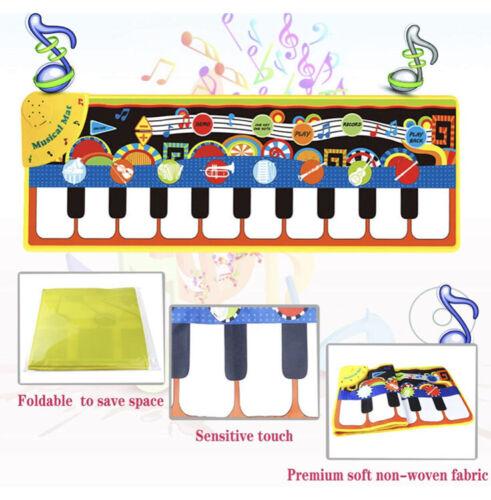 Kids Baby Musical Music Keyboard Piano Play Mat Development