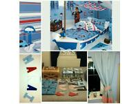 Childrens boat Bed And Bedroom accessories from Next