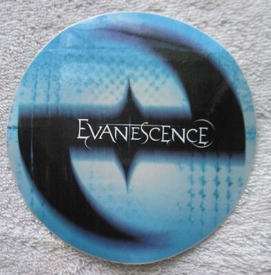 Evanescence Street Team Debut Cd Fallen Bring Me To Life Promo Sticker Amy Lee