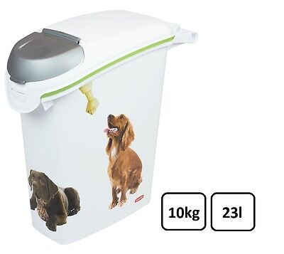 CURVER 10 KG (23 litre) dog food container dry food storage#197927