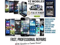 Mobile phones, Tablet and Laptop repairs- While you wait