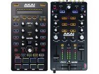 Akai pro AMX and AFX SERATO DJ MIXER