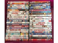 44 DVDs for £25 or £1 each