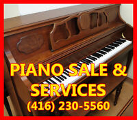 ★USED PIANO FOR SALE, PIANO TUNING, REPAIR, RESTORATION, MOVING★