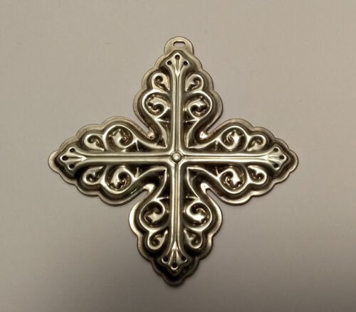 1978 LIMITED 8th EDITION STERLING REED & BARTON CHRISTMAS CROSS