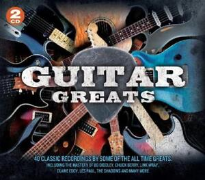 GUITAR GREATS - 2 CD BOX SET - CHUCK BERRY, LINK WRAY, DUANE EDDY & MORE