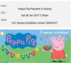 Peppa Pig tickets Sydney City Inner Sydney Preview