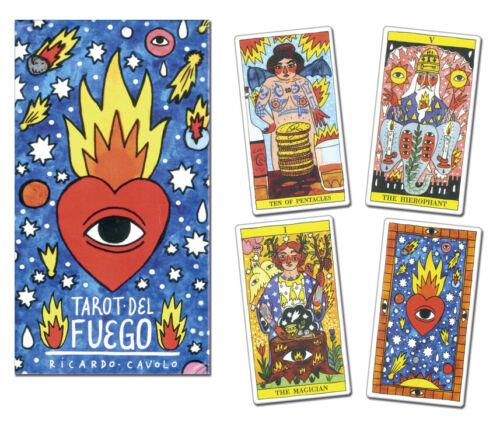 Tarot del Fuego Deck Fournier New Sealed