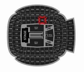 2 X JAY-Z & BEYONCE TICKETS FOR MANCHESTER 13TH JUNE
