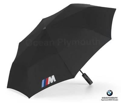 Genuine BMW M Folding Umbrella - Black - 80232410917