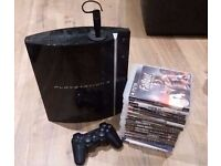 PS3 (Sony Playstation 3) 320GB & 28 Games