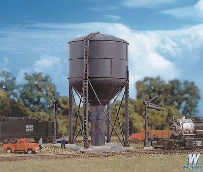 3817 Walthers Cornerstone Steel Water Tank -- Kit  N Scale