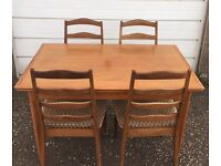 G-plan vintage Table and Chairs - £80 FREE DELIVERY IN EDINBURGH