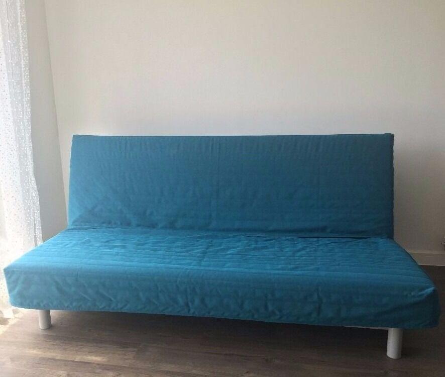 IKEA Three Seat Sofa Bed BEDDINGE LÖVÅS (RRP £215) Idea