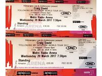 Craig David Standing Tickets Newcastle 29th March