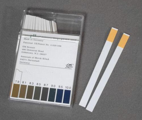 Pkg-100 ColorpHast Test Strips pH 6.5-10.00 cat# 9583