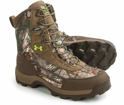 Under Armour Brow Tine 800 Hunting Hiking Boots Mens Sz 11.5 Camo 1240080-946