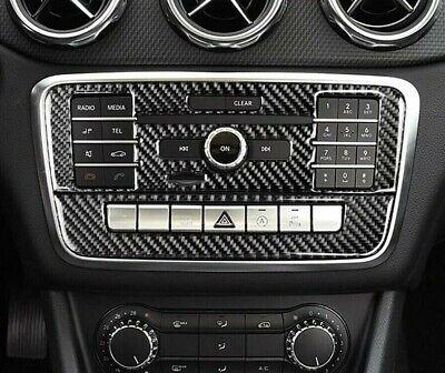 Passend für Mercedes Benz GLA X156 CLA C117 A Klasse Radio Blenden Carbon