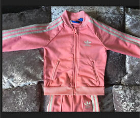 Baby girls Adidas Originals Tracksuit 9-12 months