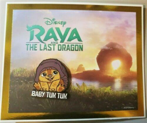 Raya & The Last Dragon VIP Pin, Baby Tuk Tuk, Disney Movie Club Exclusive, NEW