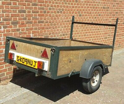 Car Trailer 6' X 4' Unbraked