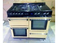 Cream Gas Cooker Range Master 110 Ex.Condition! - 30miles FREE DELIVERY