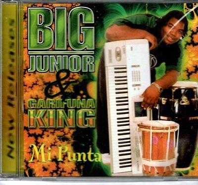 Big Junior & Garifuna King Mi Punta  BRAND  NEW SEALED CD (Punta Mi)