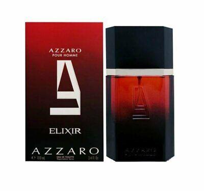 ELIXIR by Azzaro Pour Homme 3.4 oz eau de toilette Spray for Men Cologne NEW NIB