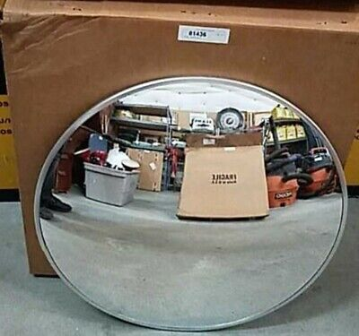 26 Convex Acrylic Security Mirror For Outdoor Use With Bracket New Open Box