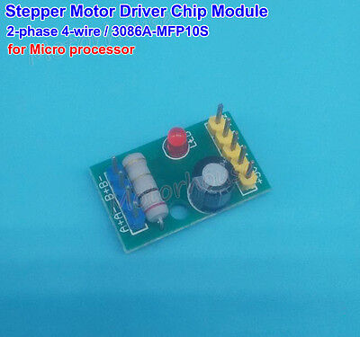 Dc 5v 2-phase 4-wire Mini Stepper Motor Driver Chip Module Arduino 3086a-mfp10s