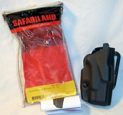 Safariland 6377-483-411 Als Belt Holster Rh Police Duty Gear Black Plain