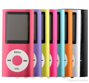 "NEW 4th Genera MP3 MP4 Player Slim 1.8""LCD Video Radio FM Player"