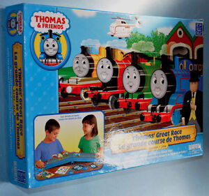 THOMAS AND FRIENDS Great Race preschool Game Complete