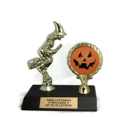 Customizable Halloween Costumes (Halloween Trophy- Witch- Jack-O-Lantern- Best Costume- Best Decorations-)