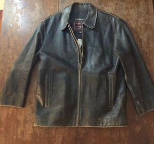 Men's Leather Coat - Andrew Marc