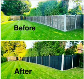 Fence Painting Service Available (50% DISCOUNT)