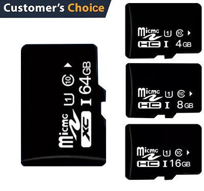 SD SDHC TF Memory Card Class 10 4GB 8GB 16GB 32GB 64GB Android Tablet Camera (4gb Sd Memory Card Camera)